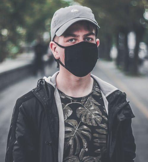 sablon masker